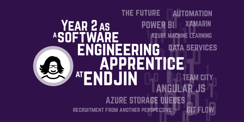 Year 2 as a software engineering apprentice at endjin