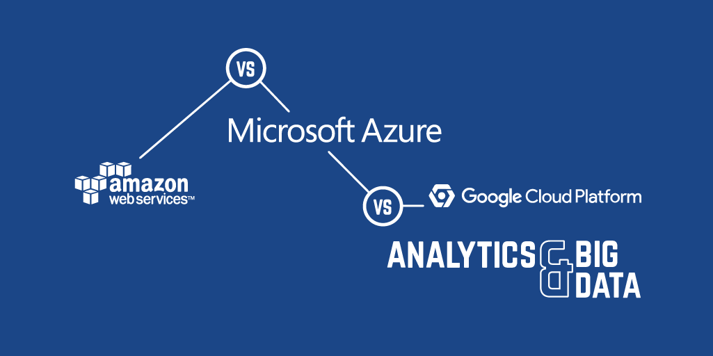 AWS vs Azure vs Google Cloud Platform - Analytics & Big Data