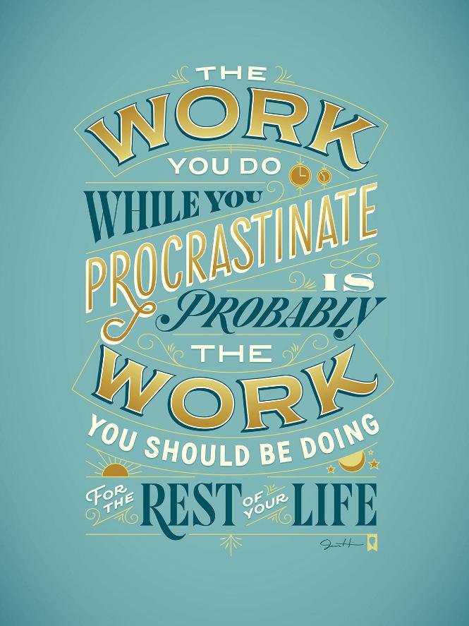 jessica-hische-procrastiworking-poster