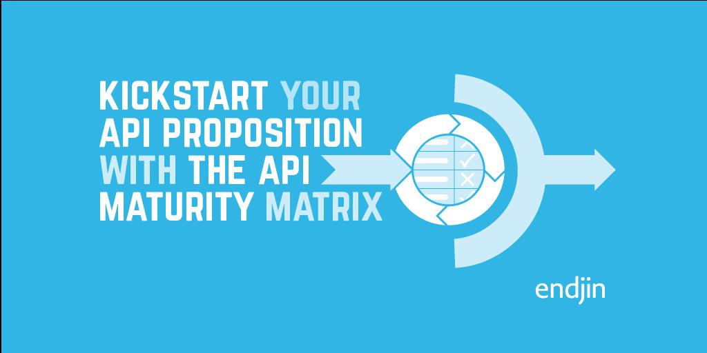 Kickstart your API proposition with the API Maturity Assessment