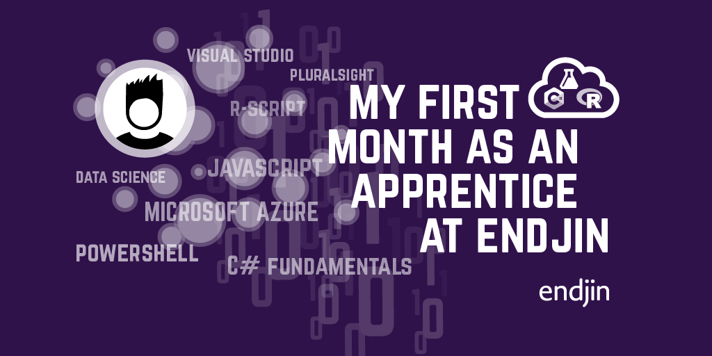 My first month as an apprentice at endjin