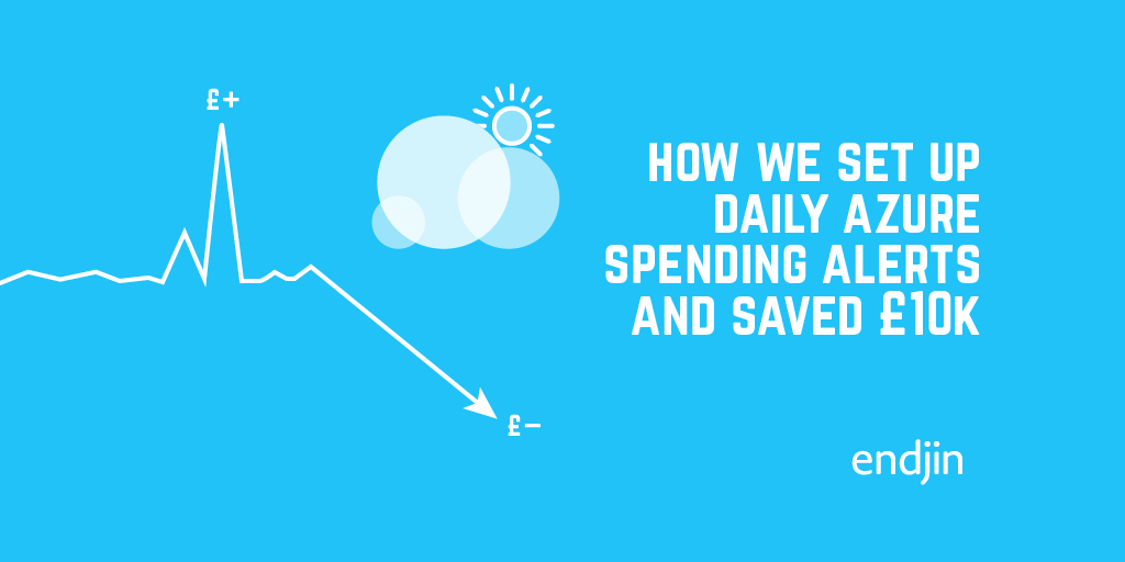 How we set up daily Azure spending alerts and saved $10k