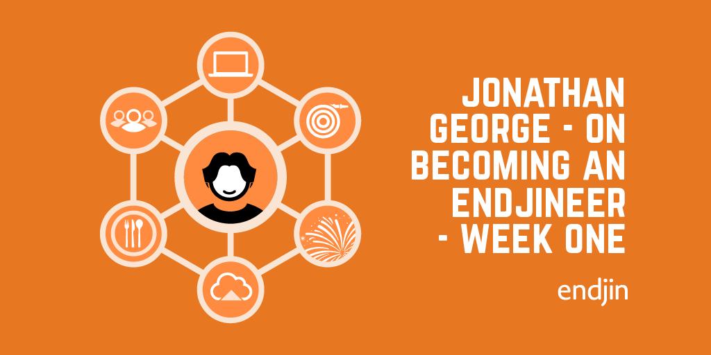 Becoming an endjineer – week 1