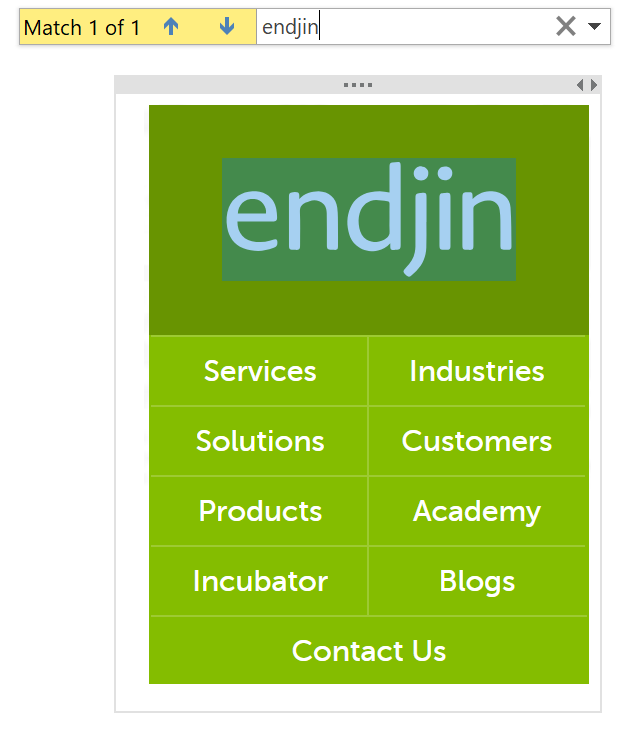 """endjin"" highlighted in endjin logo."