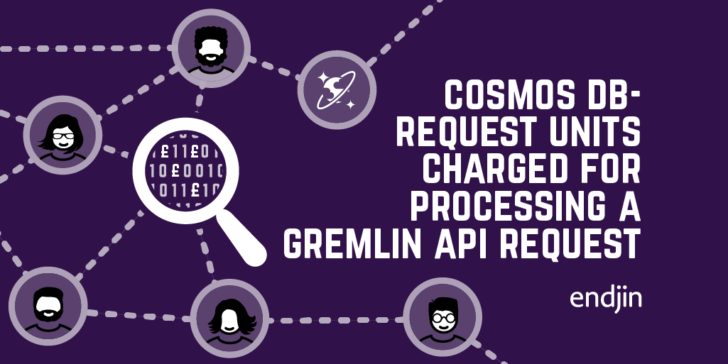 Cosmos DB - Request Units charged for processing a Gremlin API request