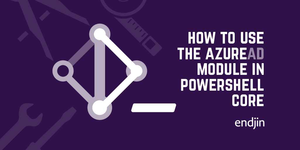 How to use the AzureAD module in PowerShell Core