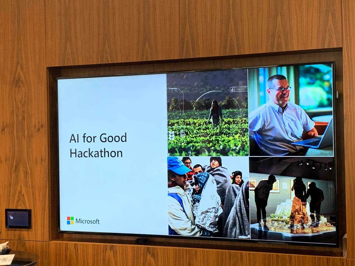 AI for Good Hackathon