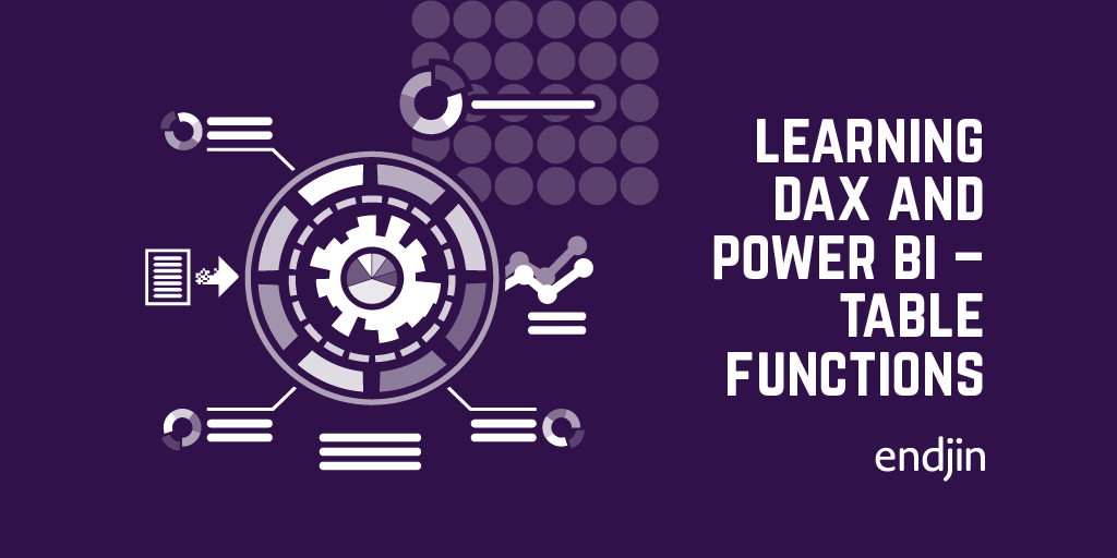 Learning DAX and Power BI – Table Functions