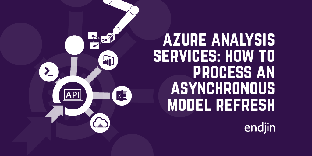 Azure Analysis Services - How to process an asynchronous model refresh from .NET