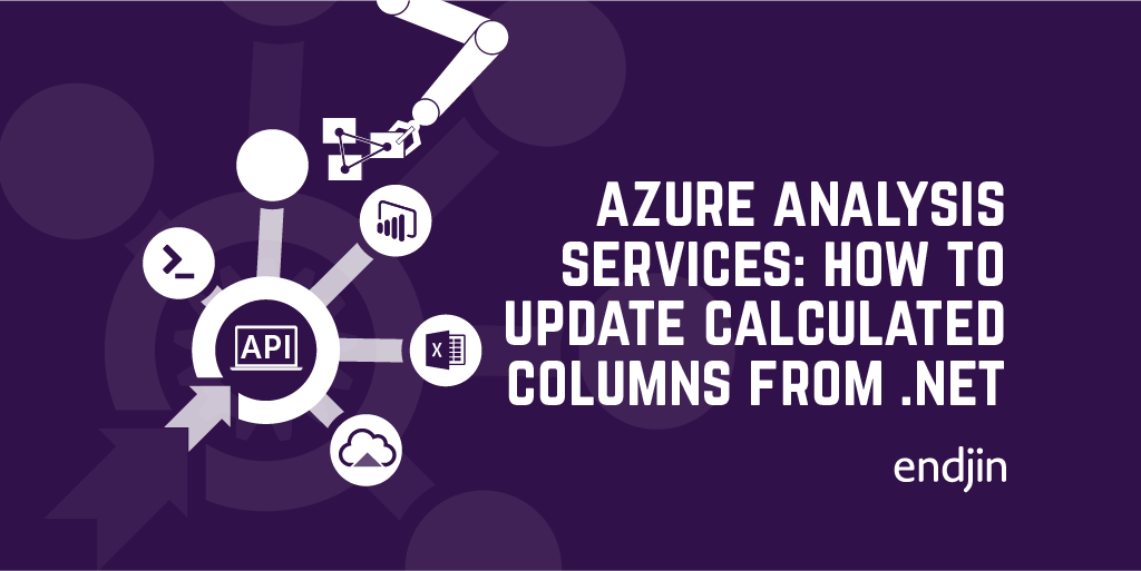 Azure Analysis Services: How to update the expression for a calculated column from .NET