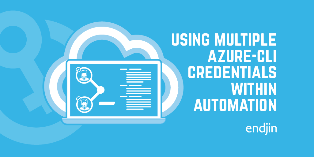 Using multiple azure-cli credentials within automation