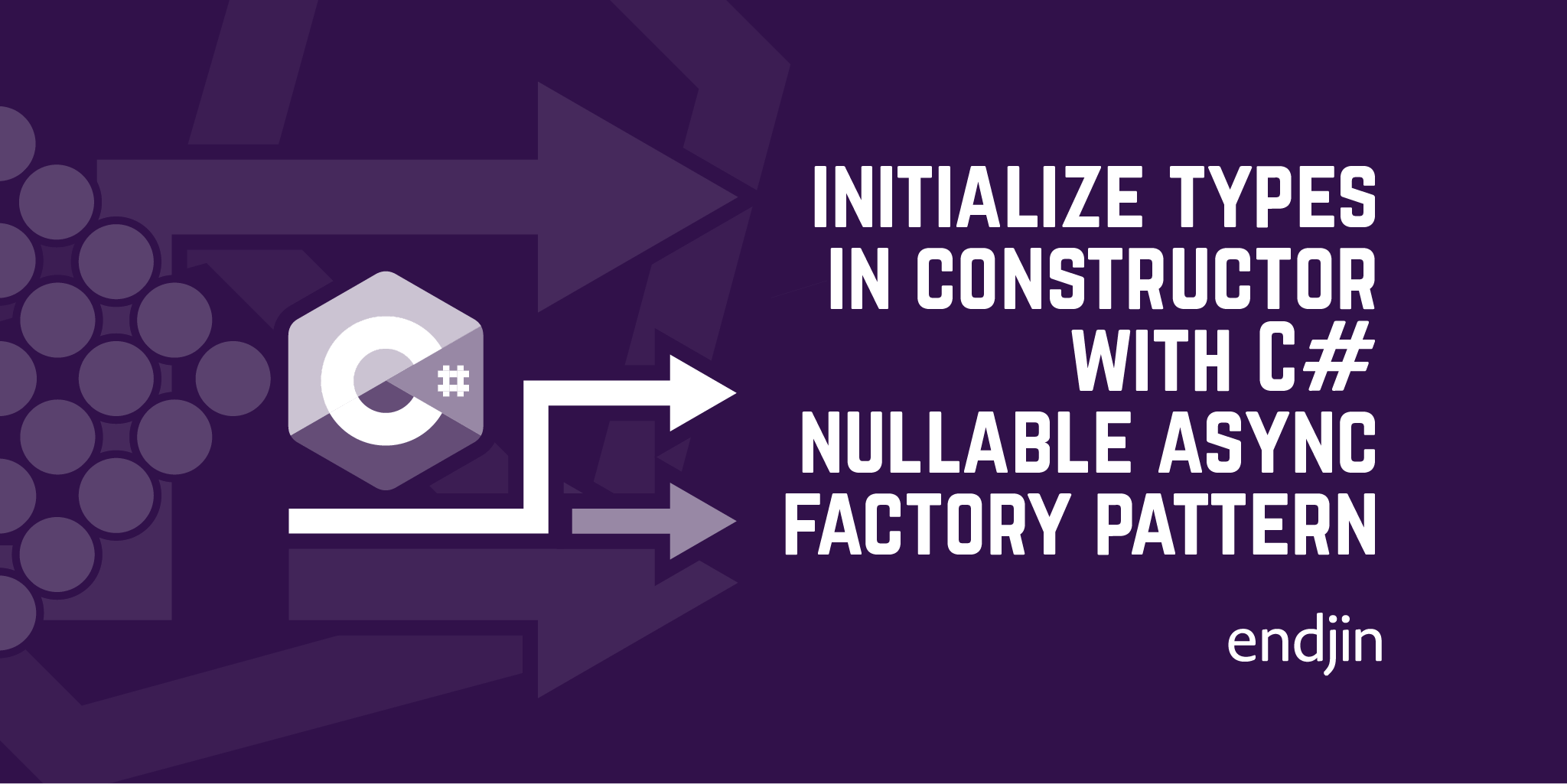 How to fully initialize types in their constructor with C# nullable using the async factory pattern