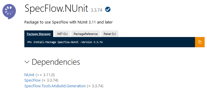 SpecFlow.Tools.MsBuild.Generation now bundled with SpecFlow.NUnit