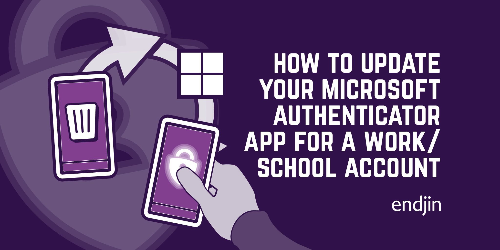 How to update your Microsoft Authenticator App for a work/school account