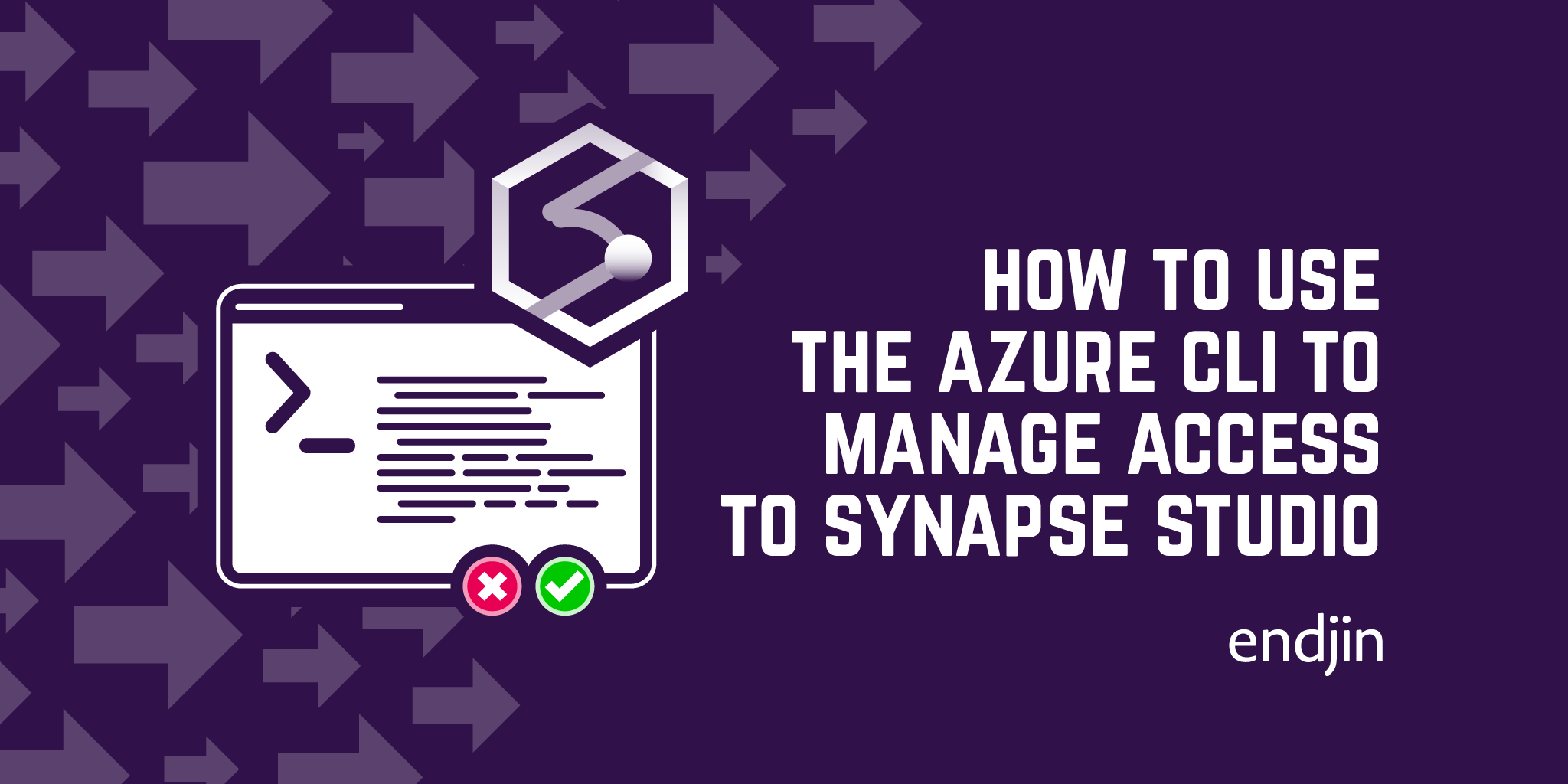How to use the Azure CLI to manage access to Synapse Studio