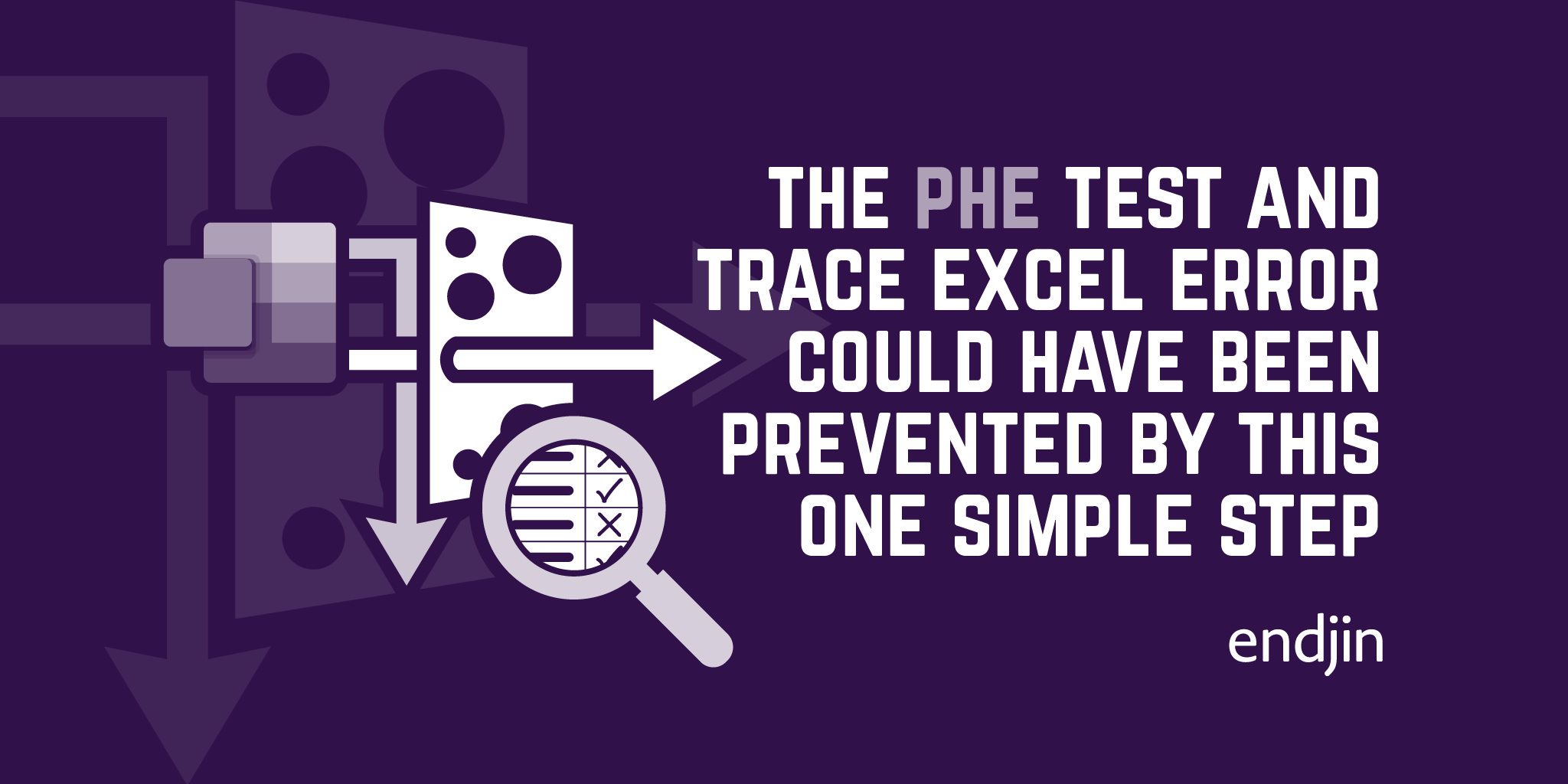 The Public Health England Test and Trace Excel error could have been prevented by this one simple step