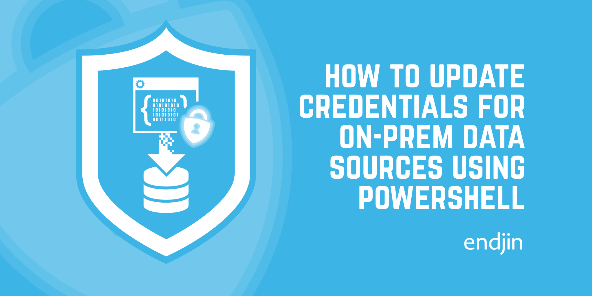 How to update credentials for an on-prem Power BI data source using PowerShell
