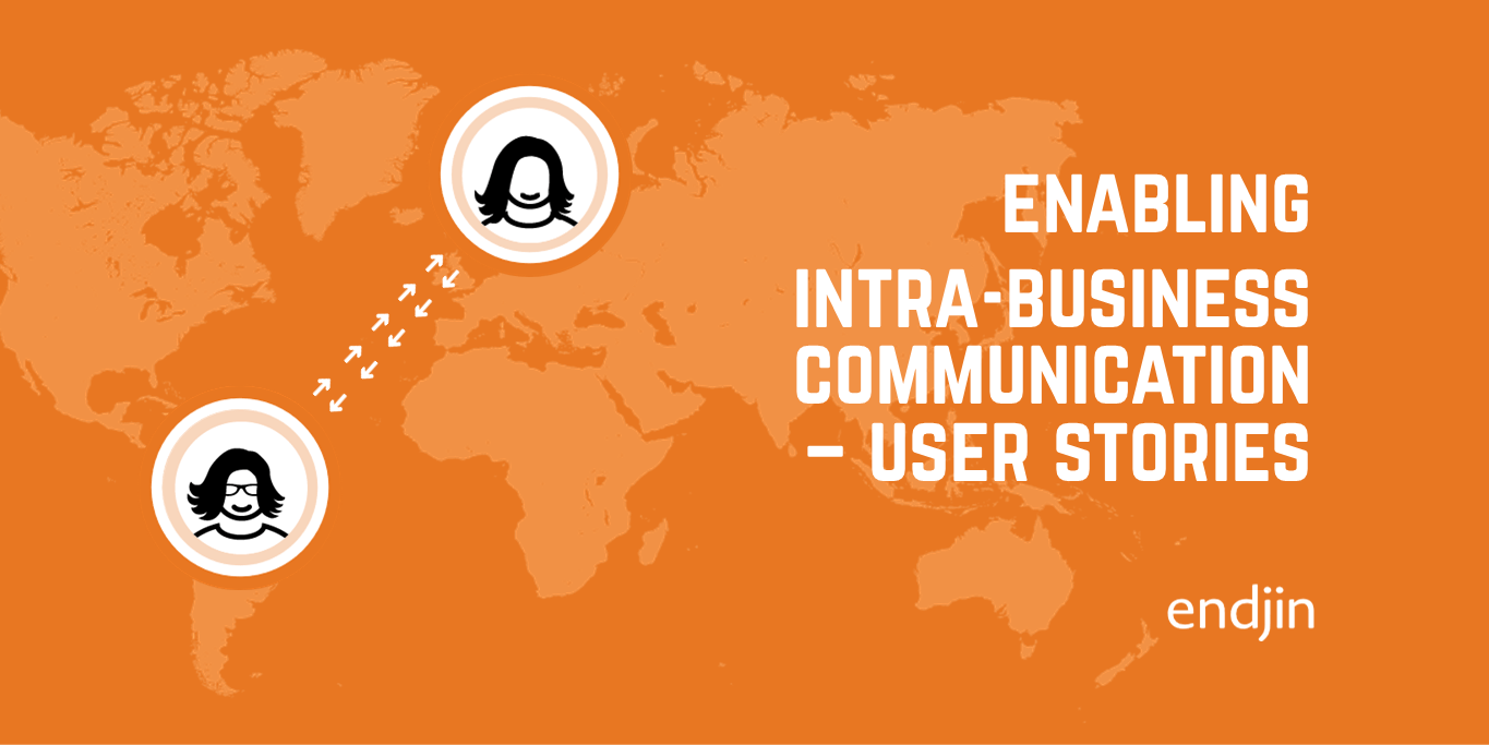 How to enable intra-business communication using user stories, BDD specs and a ubiquitous language