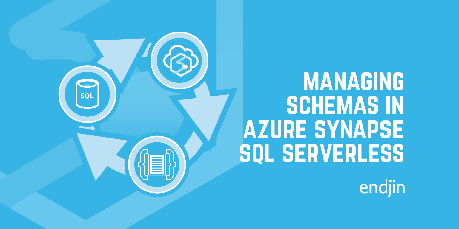 Managing schemas in Azure Synapse SQL Serverless