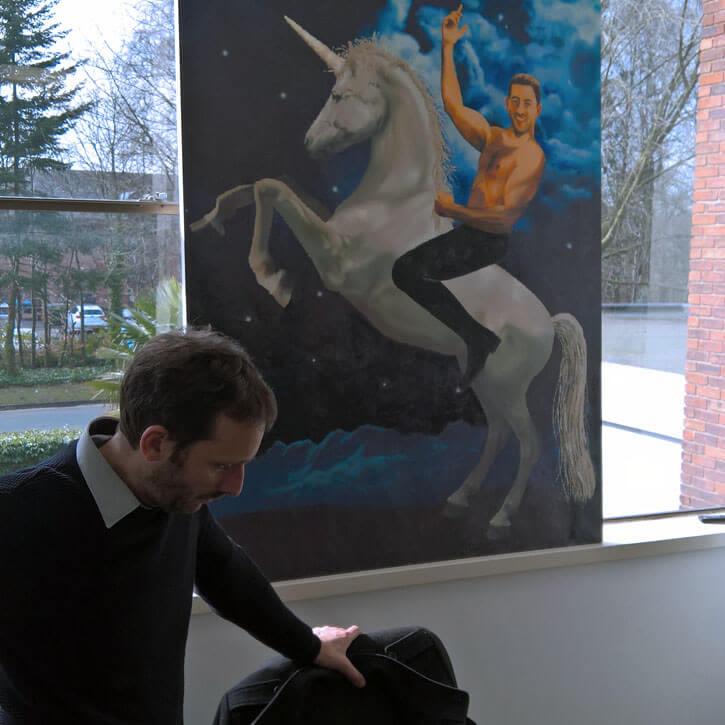Purplebricks Meeting Room Unicorn