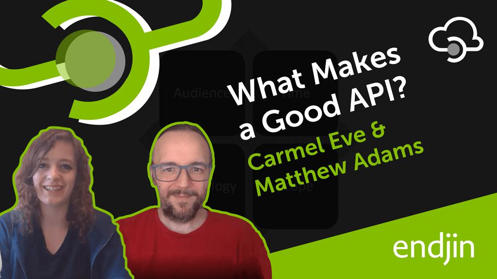 What makes a good API?