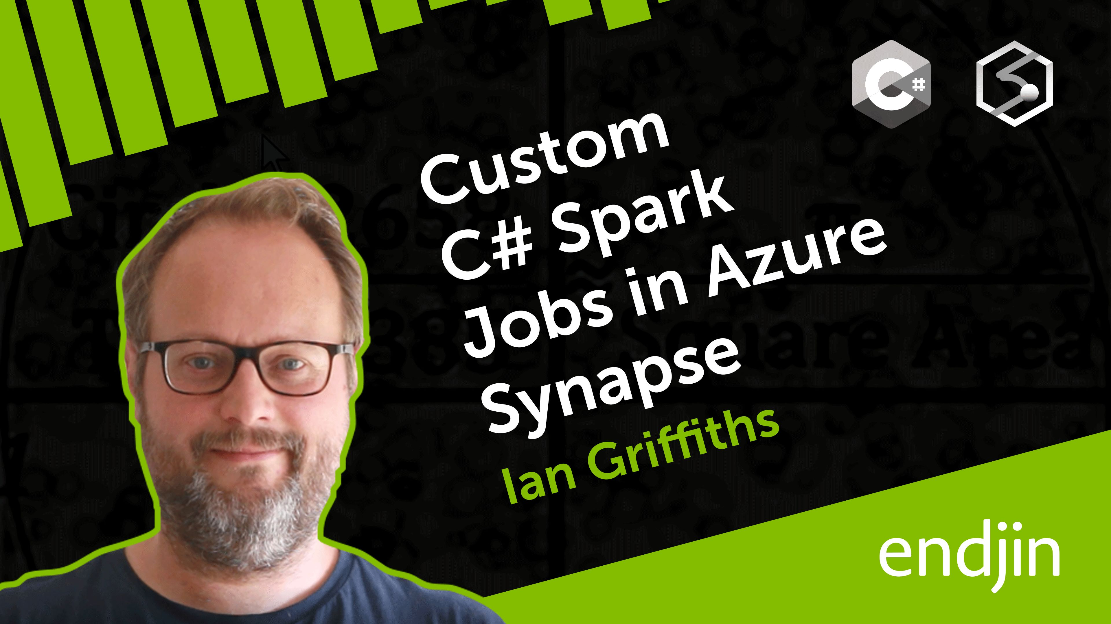 Custom C# Spark Jobs in Azure Synapse