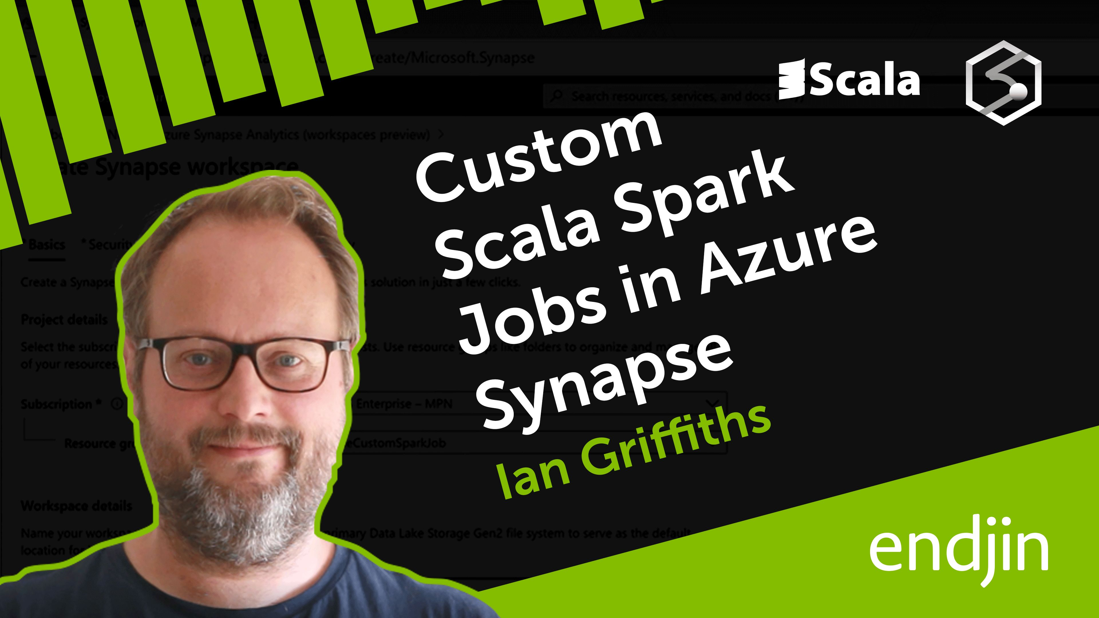Custom Scala Spark Jobs in Azure Synapse