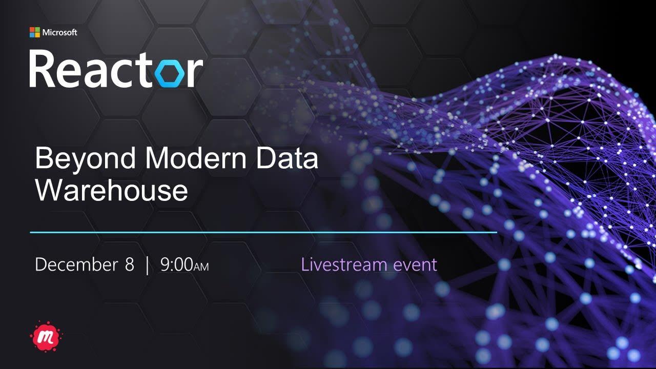 Beyond Modern Data Warehouse MVP Panel Discussion
