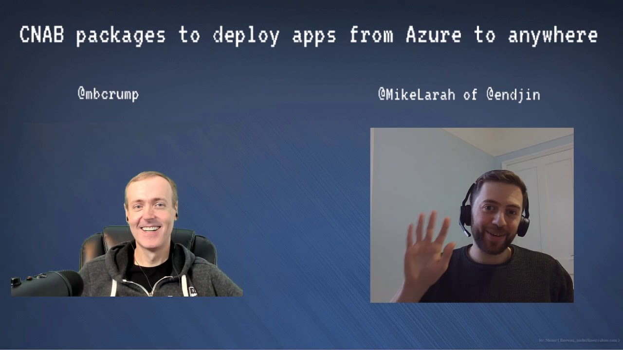 CNAB packages to deploy applications from Azure to anywhere at all