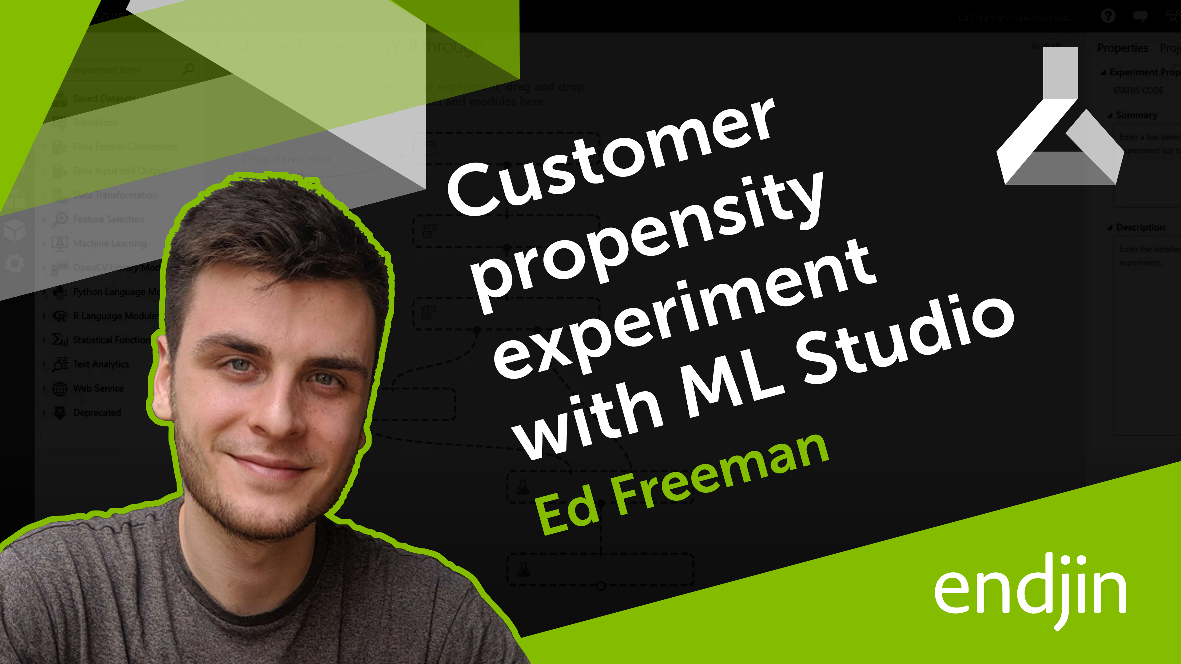 A step-by-step customer propensity experiment with Azure Machine Learning Studio
