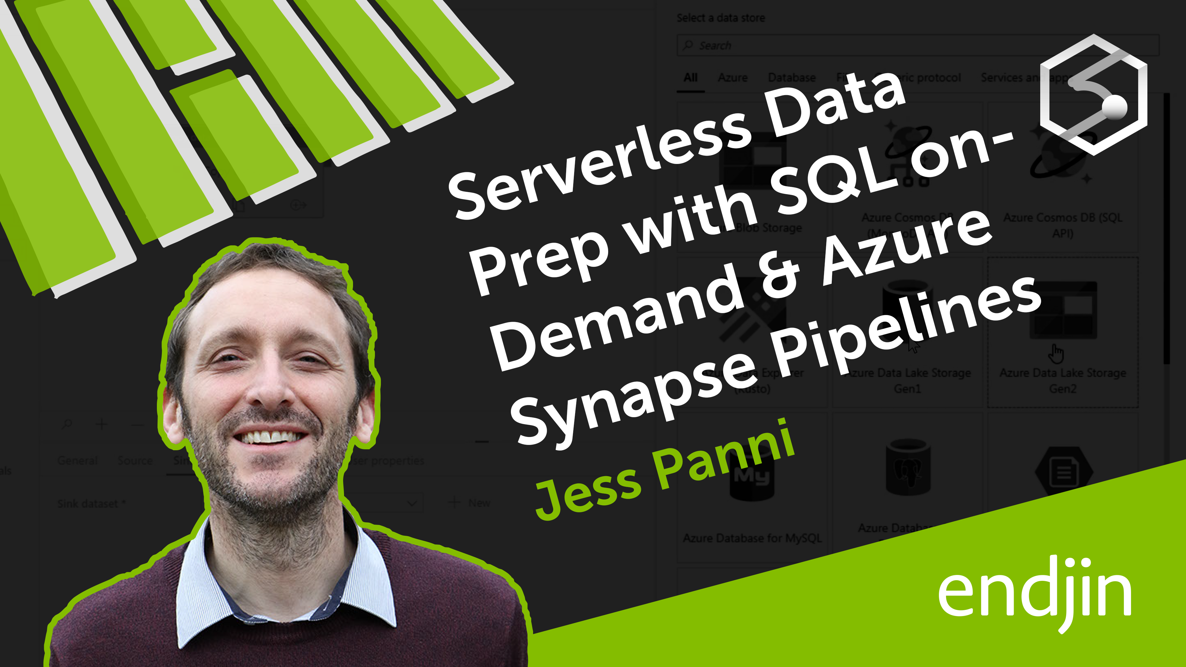 Serverless data prep using SQL on demand and Synapse Pipelines