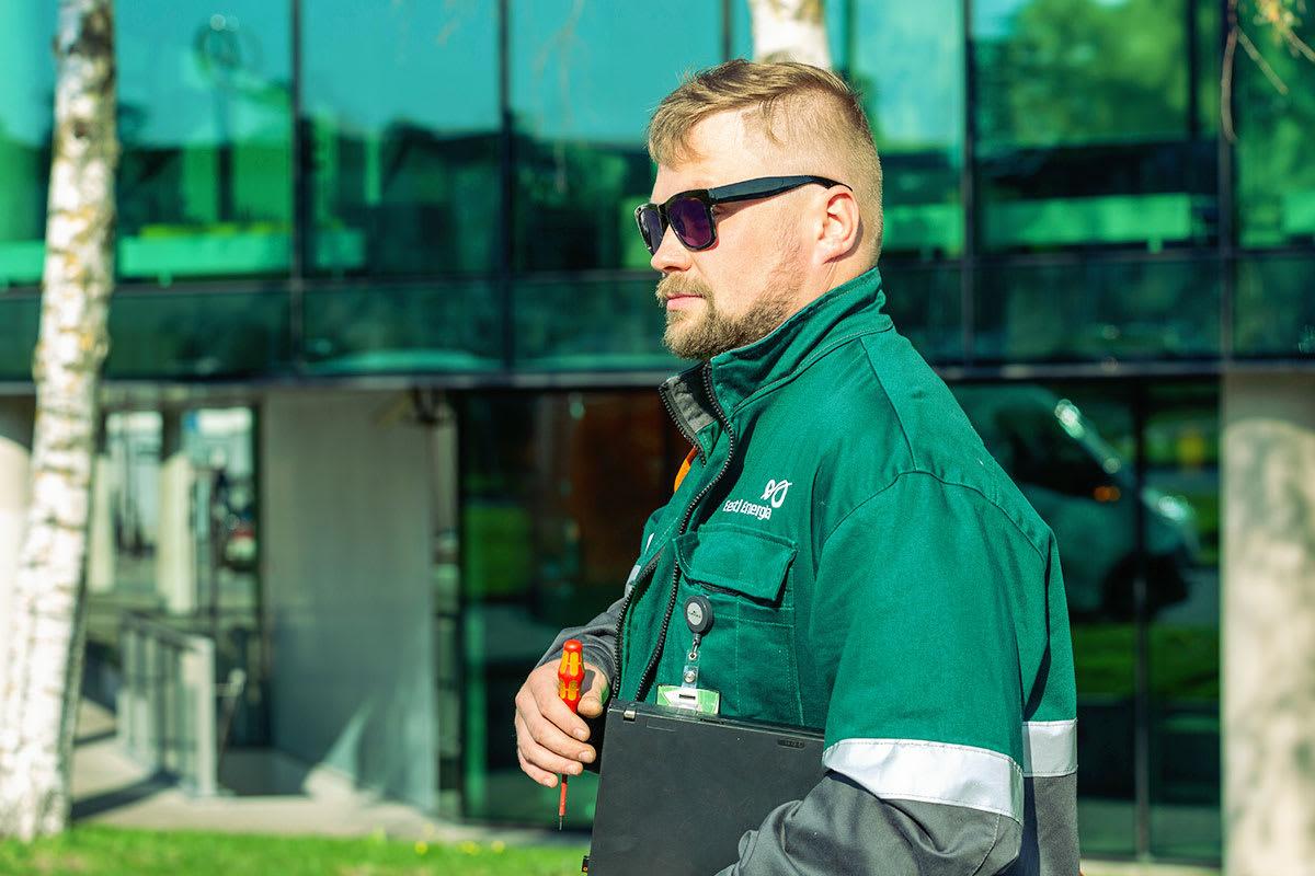 Eesti Energia töömees
