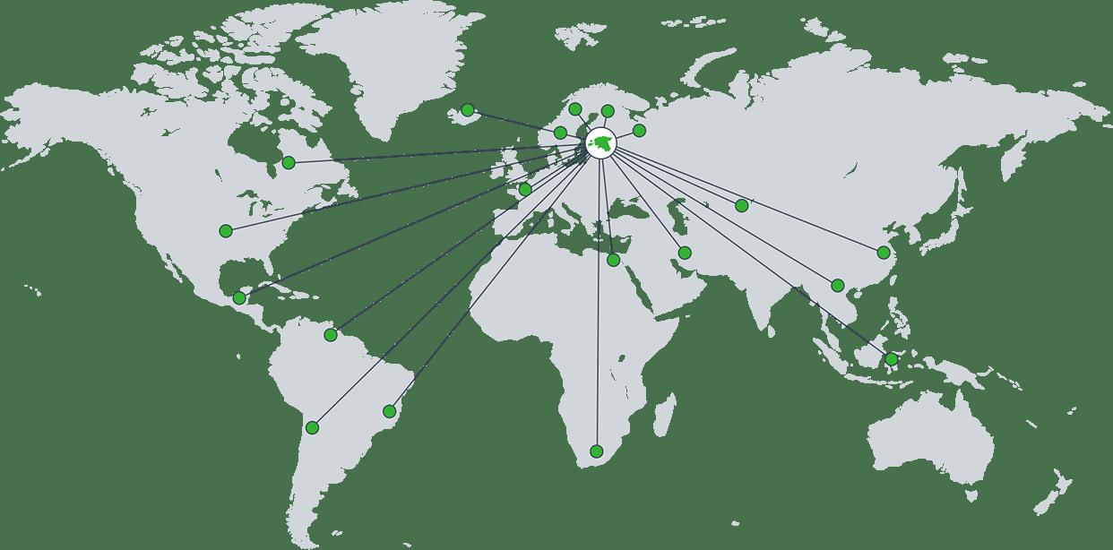 Enefit Solutionsi kliendid on tööstusettevõtted enam kui 50 riigist