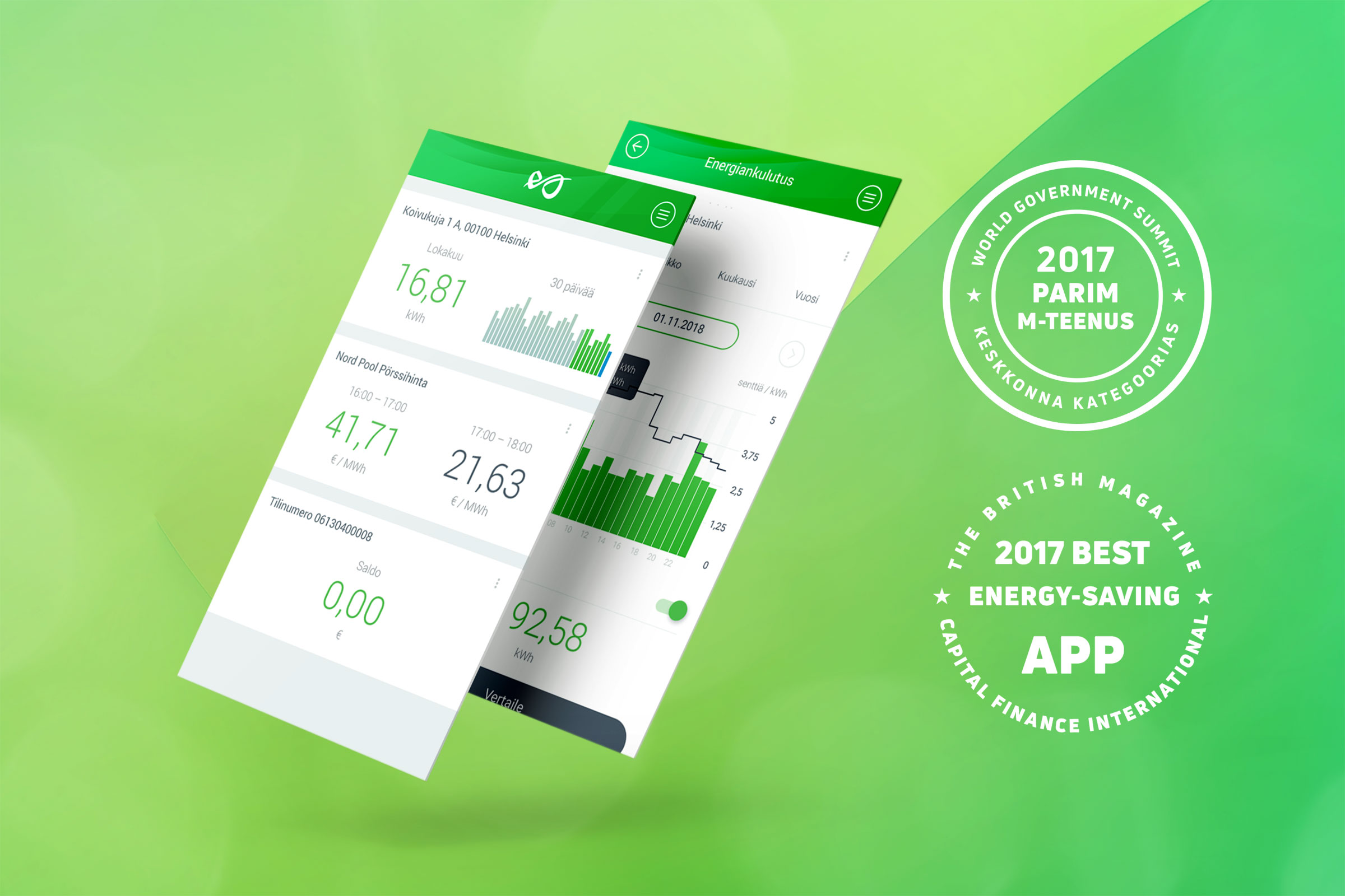 2017 best energy-saving app