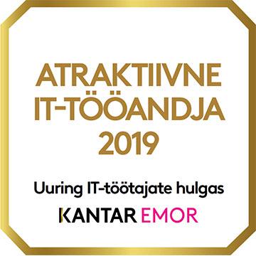 Atraktiivne IT-tööandja 2019 - Uuring IT-töötajate hulgas