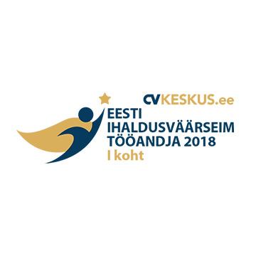 Eesti Ihaldusväärseim tööandaja 2018