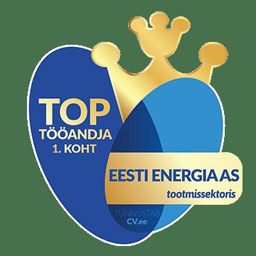 1. koht - TOP tööandja tootmissektoris 2019