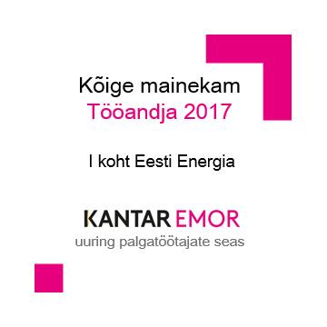 1. koht - Kõige mainekam tööandja 2017
