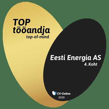 4. koht - TOP tööandja 2020