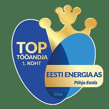 1. koht - TOP tööandja Põhja-Eestis 2019