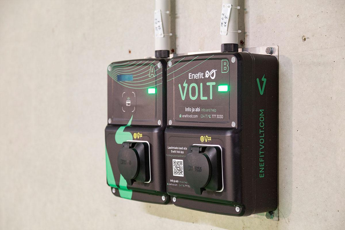 Vali Enefit VOLT poolkiire laadija, kui tead, et peatud kauem ning laadimiseks aega rohkem.