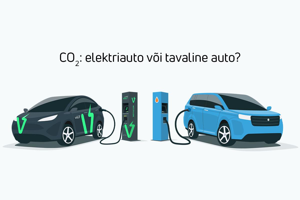 Elektriauto või tavaline auto: kumb on puhtam?