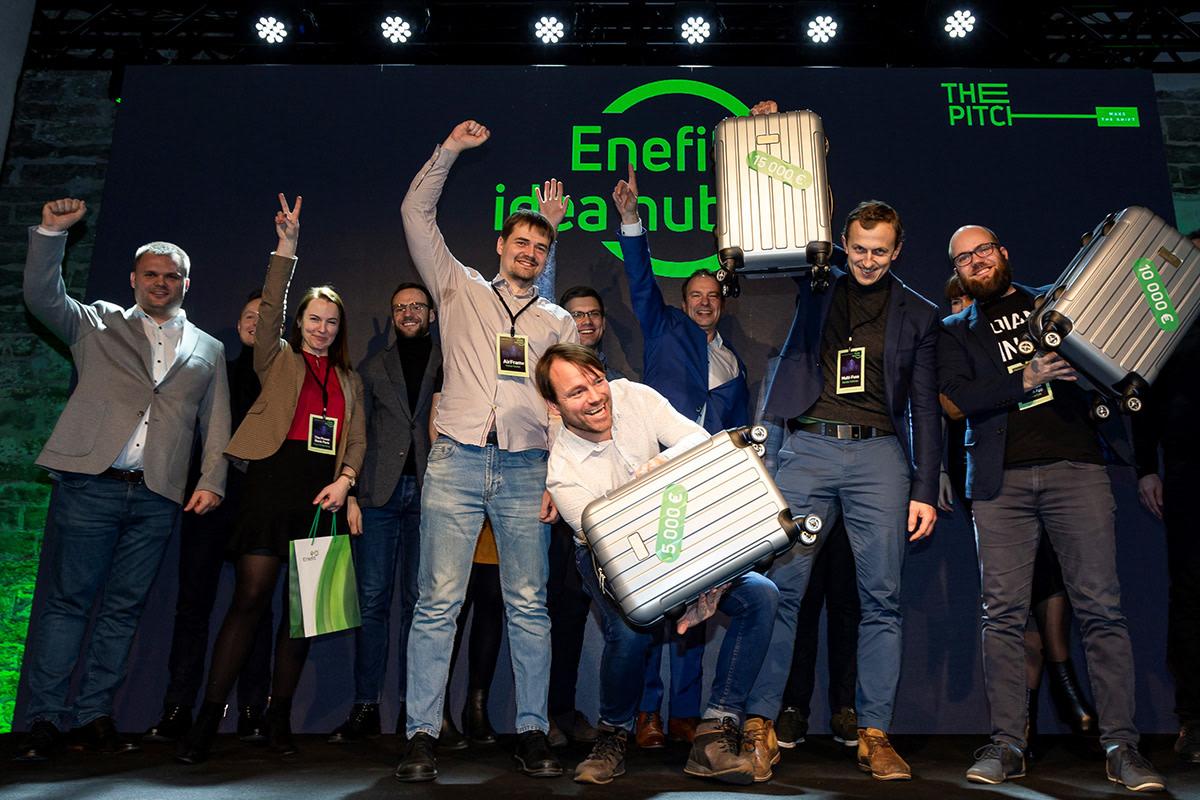"""Najlepsze rozwiązania w konkursie Eesti Energia """"Idea Hub - The Pitch"""""""