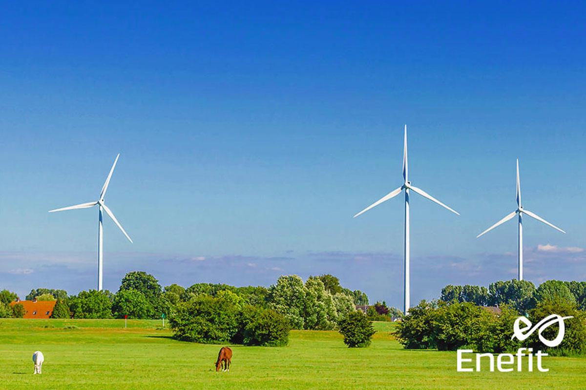 Spółka Enefit Green 3,5 razy zwiększyła wolumen wytwarzanej energii elektrycznej w I półroczu br