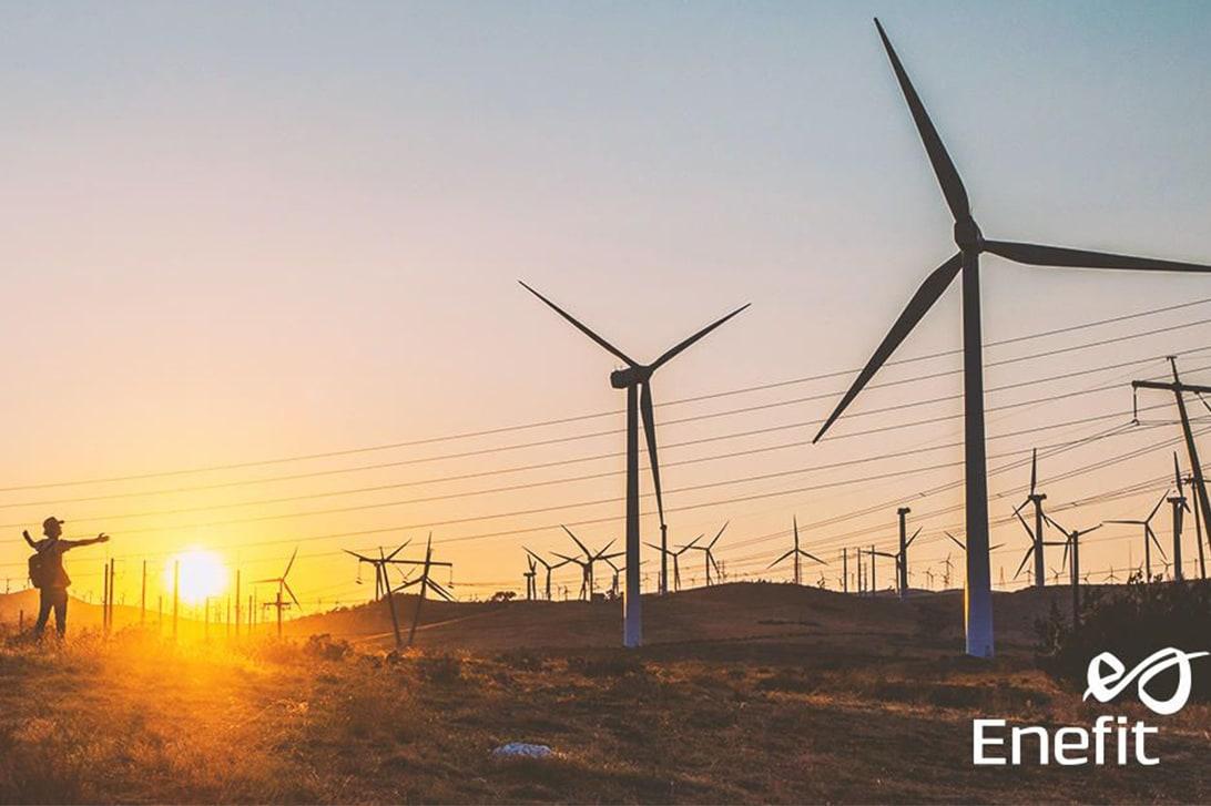 Enefit Green wyprodukował w lutym rekordowy wolumen energii wiatrowej