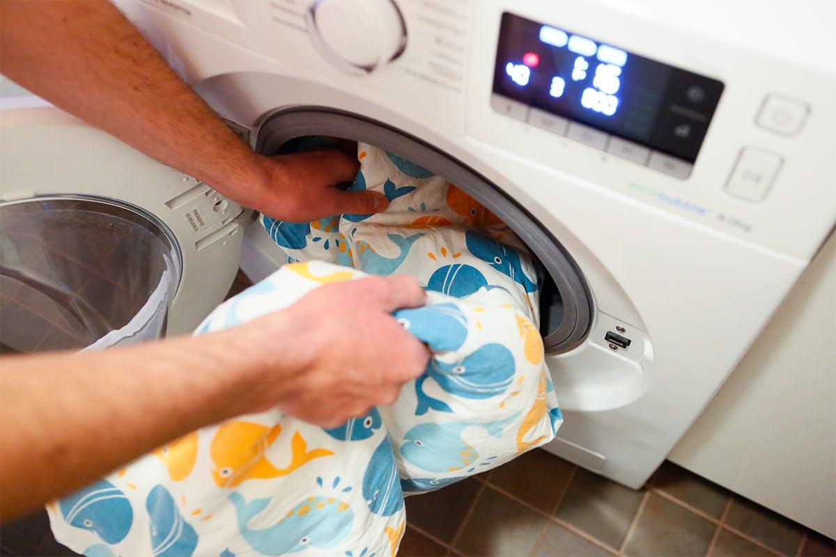 Ville testaa: Pyykit puhtaaksi vähemmällä