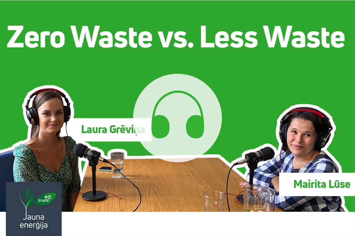 AUDIO: Zero Waste vs. Less Waste