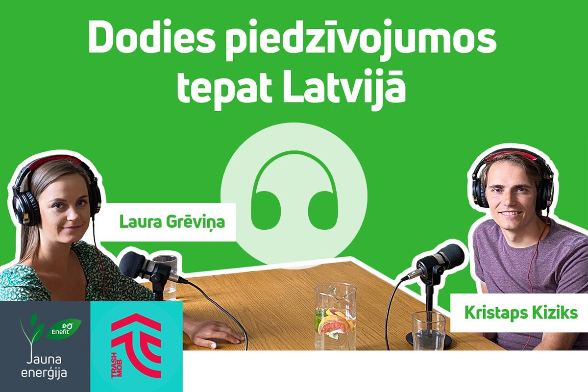 AUDIO: Dodies piedzīvojumos tepat Latvijā