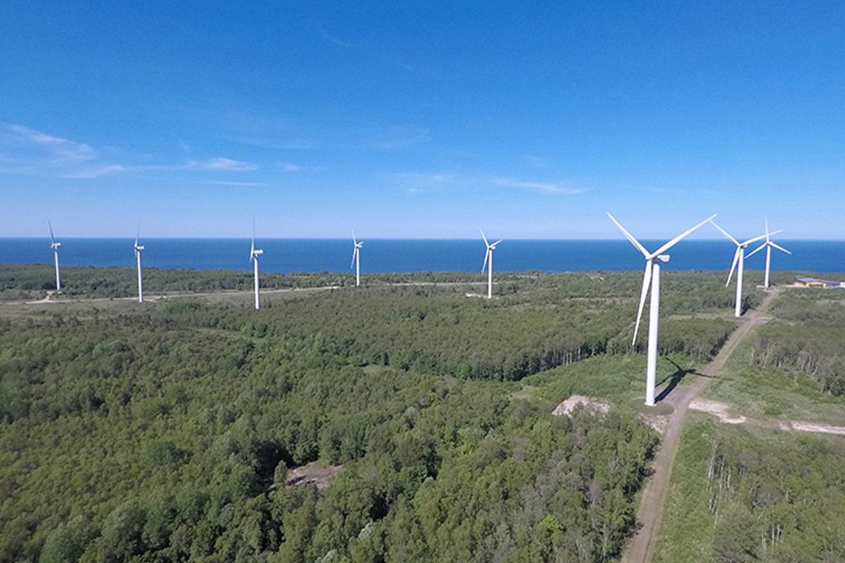 Enefit Green sasniedz zaļās enerģijas ražošanas rekordu