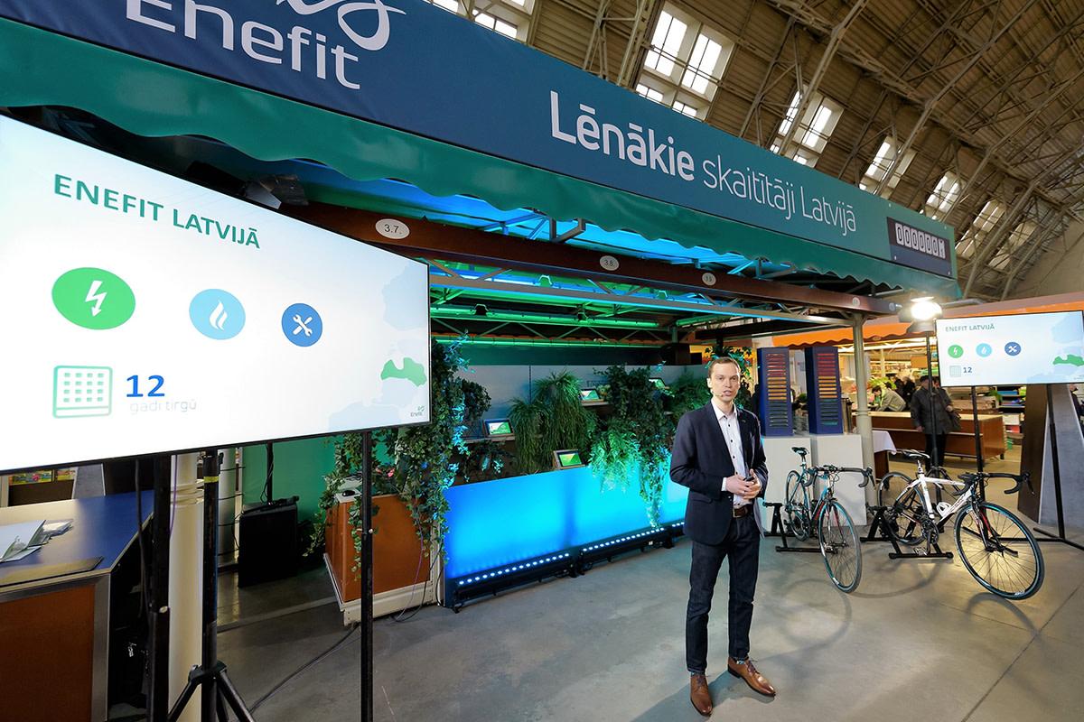 Enefit's sold energy volume increased last year